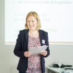 """Dr. Christine Natschläger bei der Veranstaltung """"Systems Engineering und Formale Methoden"""""""